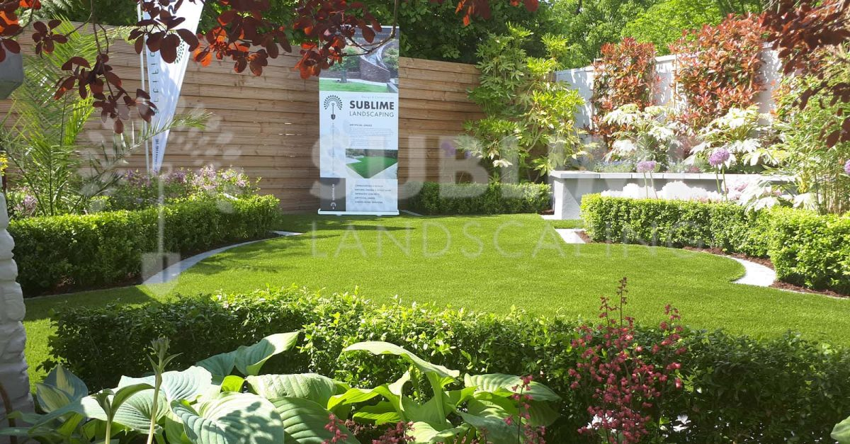 Sublime Landscaping Awarded Design Medal at The Mallow Home & Garden Festival 2018